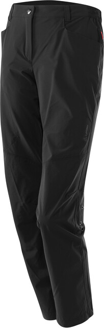 Löffler Comfort Stretch Light Trekking Roll Up Broek Dames, black